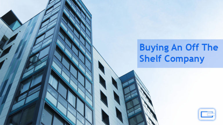 What are the benefits of buying an off the shelf company?