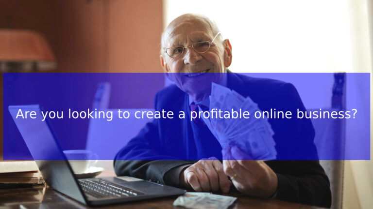 Are you looking to create a profitable online business? Here are 4 simple ways
